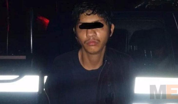 Detienen a presunto ladrón en Zitácuaro, Michoacán