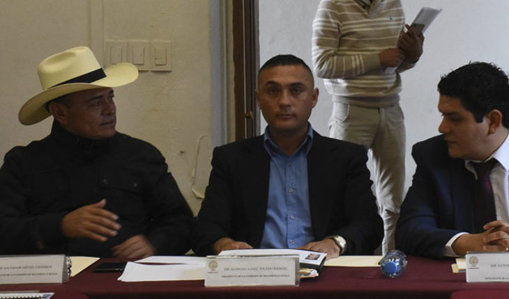 Diputados michoacanos instalan Comisión de Desarrollo Rural