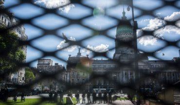Disturbios y detenidos en las inmediaciones del Congreso
