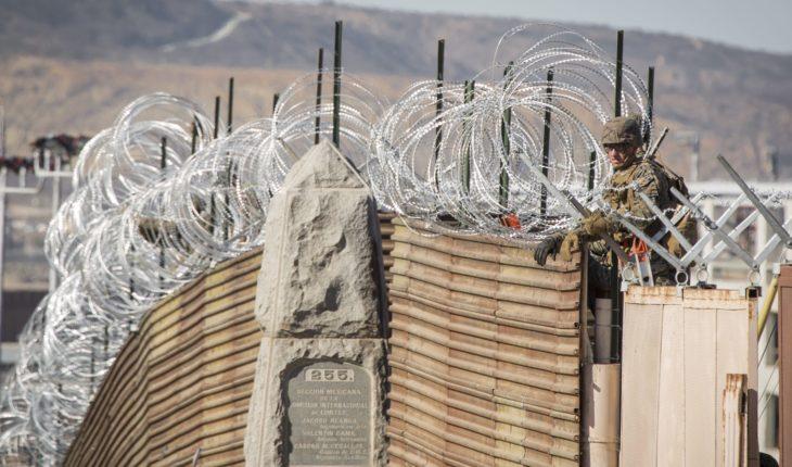 EU blinda paso fronterizo en Tijuana por llegada de la caravana migrante