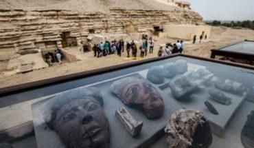 Egipto devela siete tumbas de faraones con animales momificados