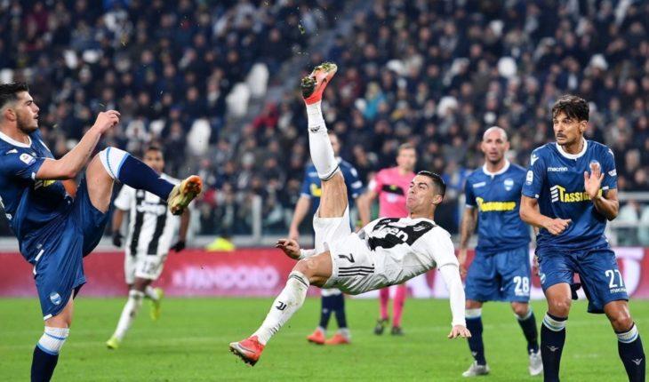 El noveno gol de Cristiano prolonga el dominio del Juventus