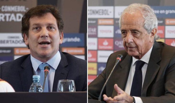 El tenso cruce entre D'Onofrio y el presidente de Conmebol por Gallardo