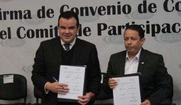 """Empresarios de la construcción CMIC y CPC firman convenio contra los """"moches"""" y la corrupción"""