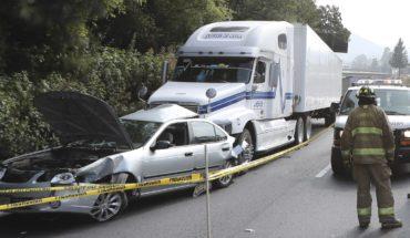 En México, los accidentes de tránsito matan diario a 32 personas