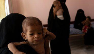 En Yemen han muerto al menos 85 mil niños por inanición