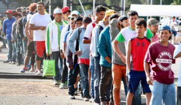En dos días llegaron 4 mil migrantes al albergue de CDMX