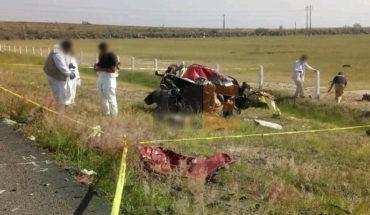 Encontronazo entre camioneta y tráiler deja un muerto en la Morelia-Salamanca