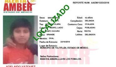 Encuentran en Tlalnepantla a los tres niños indígenas reportados como desaparecidos