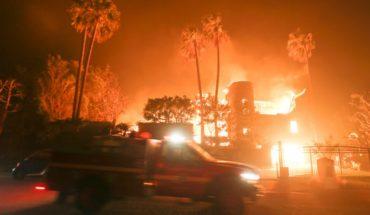 Estrellas de Hollywood escapan del fuego: Lady Gaga debió evacuar su casa ante avance de incendio en Malibú