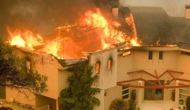 Evacúan a Lady Gaga, Kardashian y Del Toro por incendios