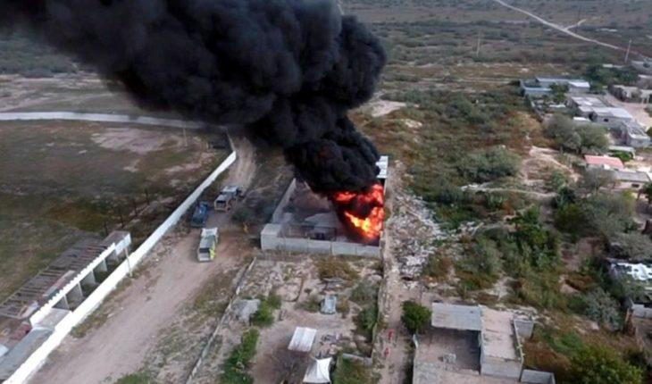 Explota un ducto de Pemex en Durango