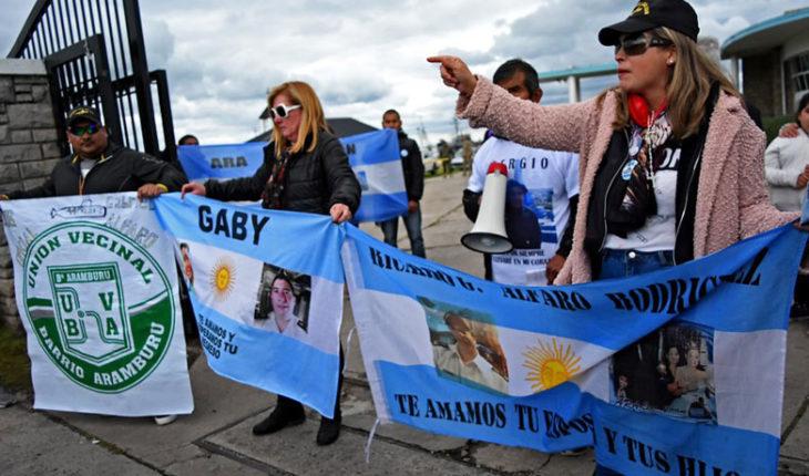 Familiares de los tripulantes del ARA San Juan pidieron su rescate