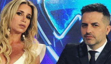 Flor Peña rompió en llanto en una discusión con Ángel de Brito