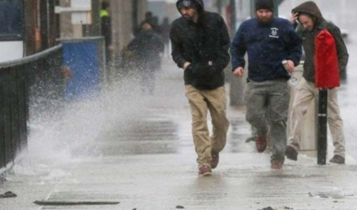 Frente frío traerá tormentas intensas en casi todo el país