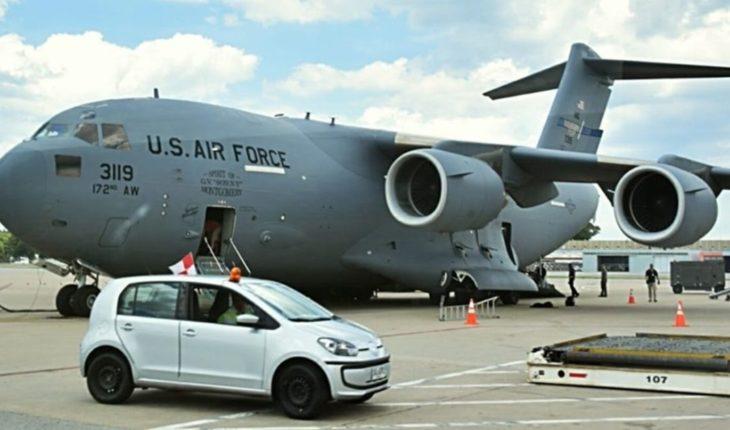 G20: Ya llegaron al país aviones militares de Estados Unidos