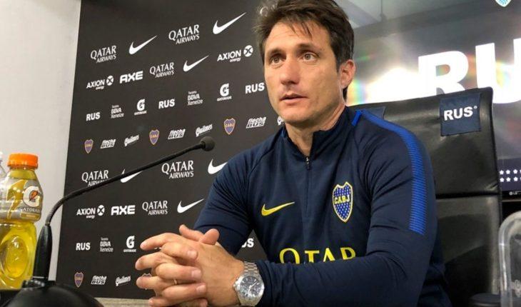 """Guillermo Barros Schelotto: """"No estábamos en las mismas condiciones que River"""""""