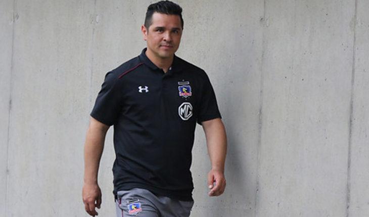 Héctor Tapia no continuará como técnico de Colo Colo