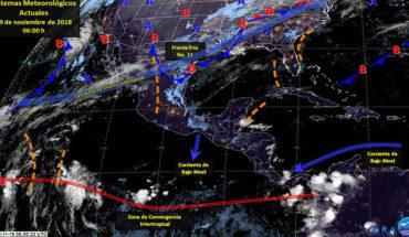 Hoy lunes se espera cielo despejado y escaso potencial de lluvias en gran parte del país