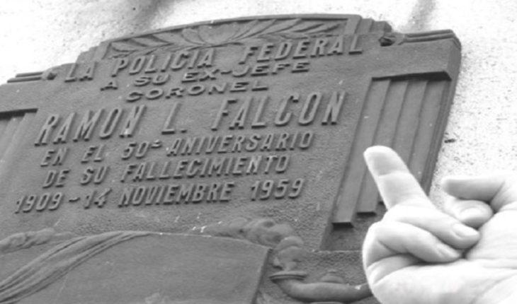Hubo una explosión en el mausoleo de Ramón Falcón, la mano de hierro de comienzos del siglo XX