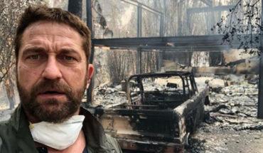 Incendio de Malibú consume gran parte de la casa del actor Gerard Butler