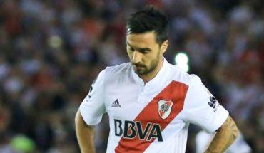 Incertidumbre en River por el estado físico de Scocco para la final de Libertadores