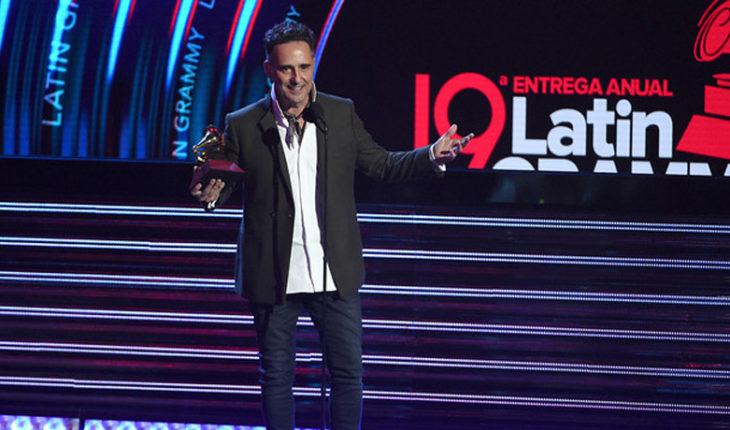 Jorge Drexler fue el gran triunfador de los Grammy Latinos