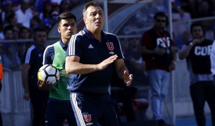 Kudelka reconoce que en algún momento pensó en renunciar a U. de Chile
