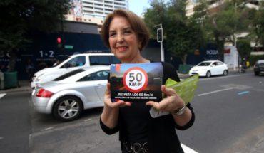 Ley de Convivencia Vial: Desde la reducción a 50 km/h van 17 mil infracciones por exceso de velocidad