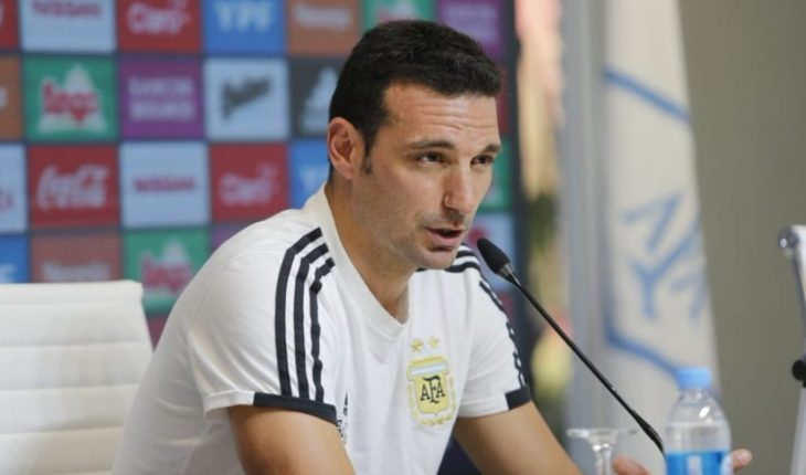 Lionel Scaloni confirmó el equipo de Argentina para enfrentar a México