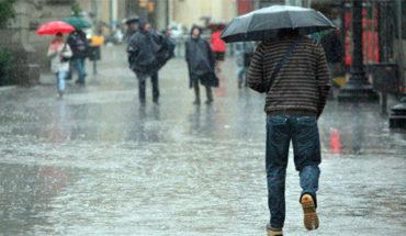 Lluvias pluviales muy fuertes en Veracruz, Oaxaca Y Chiapas