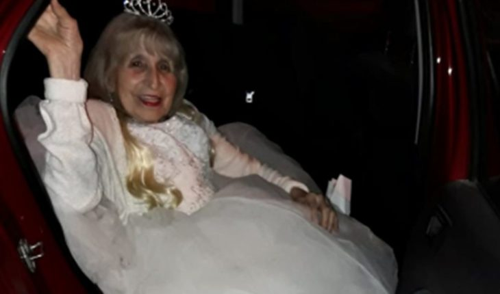 Los 90 son los nuevos 15: la abuela que celebró su cumpleaños a pura fiesta