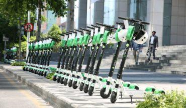 Más de 200 scooters eléctricos ya están disponibles en La Reina y Las Condes