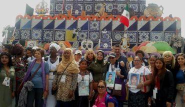 Madres de migrantes desaparecidos en México, un ejemplo para mujeres del mundo