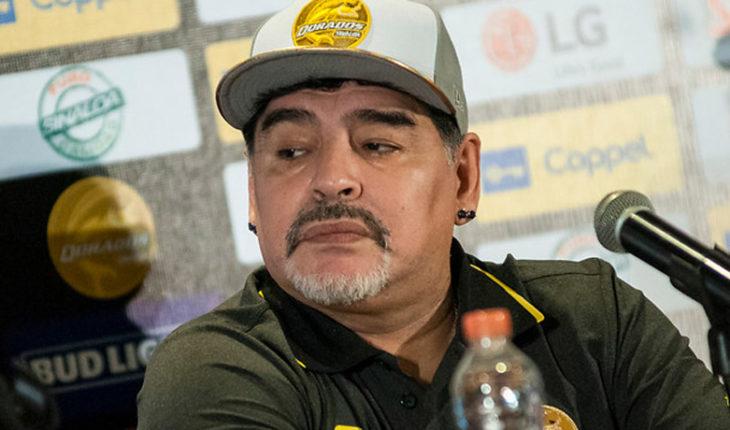 Maradona culpó a Macri por los incidentes de la Copa Libertadores