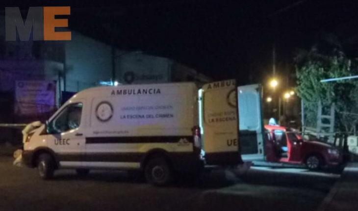 Matan a automovilista en la colonia Mariano Michelena de Morelia