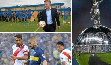 Mauricio Macri le pidió a Patricia Bullrich que la final de la Copa Libertadores entre River y Boca sea con visitantes