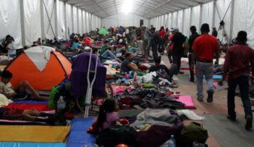 Migrantes acuerdan permanecer dos días más en CDMX