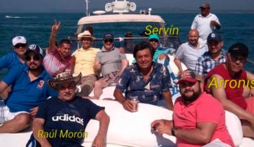 Muestran a Raúl Morón alcalde de Morelia entre sol, mar y…. ¡yates!