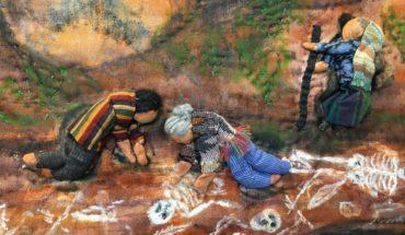 Mujeres visibilizan la desaparición y los feminicidios a través del tejido