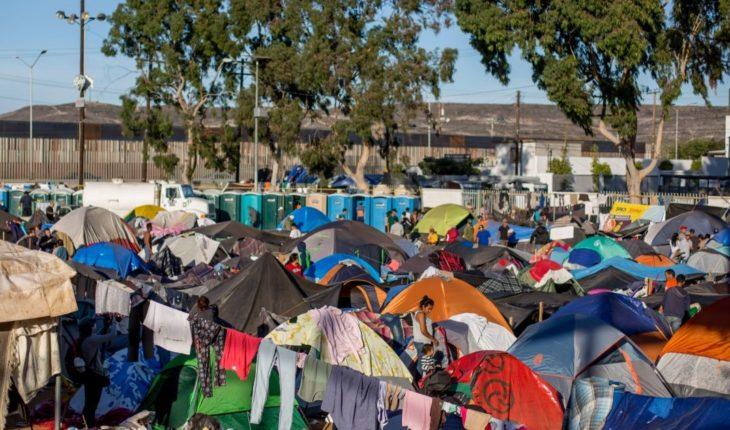 Número de migrantes triplica capacidad de albergue en Tijuana