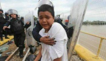 Niño deportado de caravana se escapa de albergue