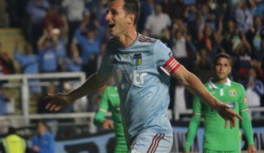 O'Higgins goleó a Audax Italiano en la despedida de Pablo Calandria