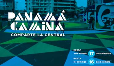 PANAMÁ CAMINA: una intervención urbana y creativa para vivir la ciudad