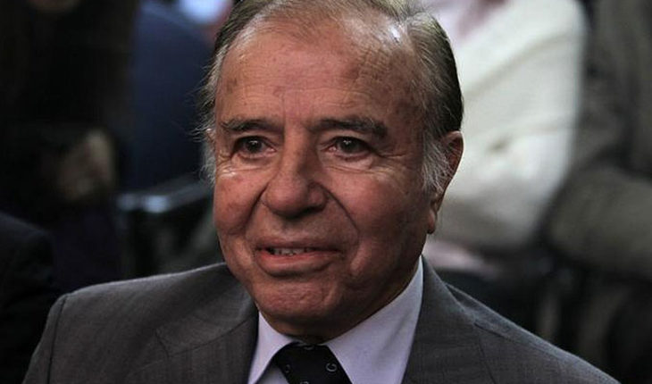 PDI autorizó el ingreso de Carlos Menem a Chile para ver a Máximo