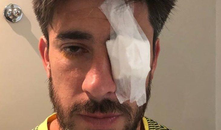 Pablo Pérez no estaría en condiciones de jugar ante River
