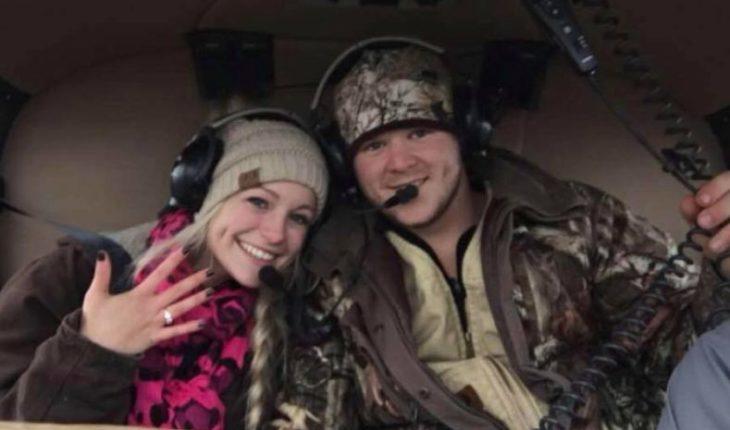 Pareja murió en un accidente de helicóptero dos horas después de casarse
