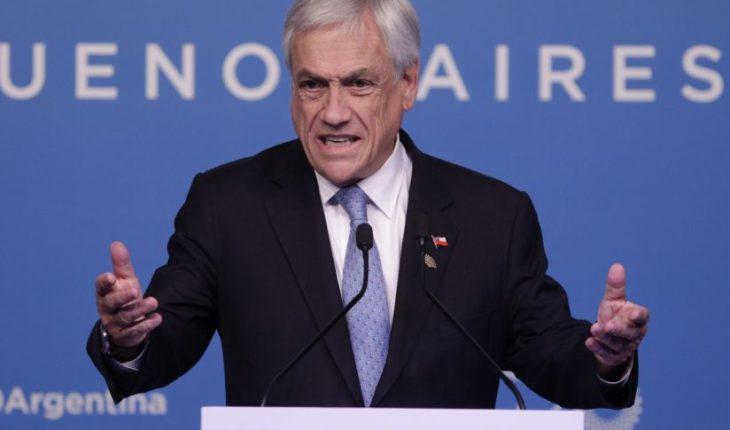 """Piñera por el caso Catrillanca: """"No vamos a tolerar ninguna actuación de Carabnieros fuera de la ley"""""""