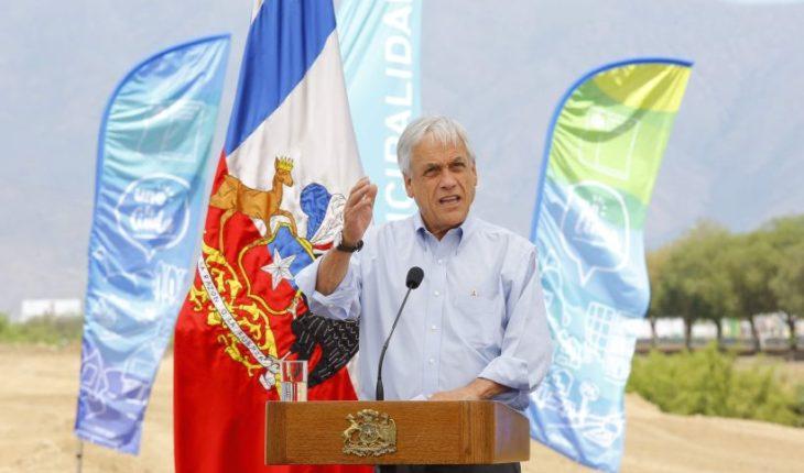 """Piñera presentó proyecto """"Parque Mapocho Río"""" en Cerro Navia"""