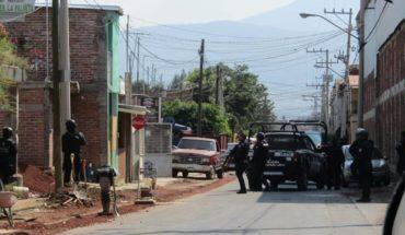 """Policía Michoacán abate a """"El Flaco"""" tras balacera en Zamora, Michoacán"""